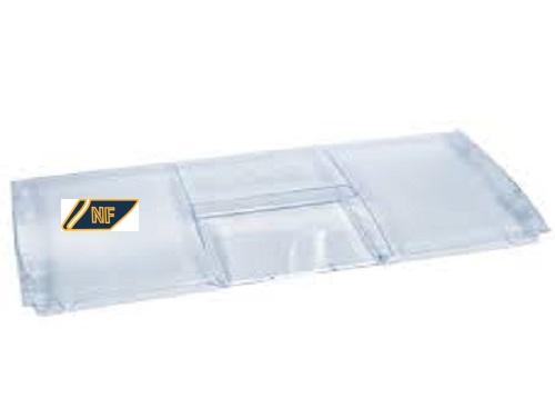 Maniglia frigorifero bianca/argento 4326391000 lunghezza: 210 mm